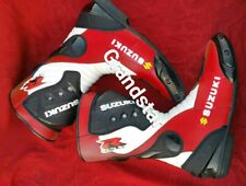 Suzuki Motorbike Racing leather boots