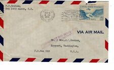 """Canal Zone Censored Cover Dec. 19, 1941 from Ancon, CZ with C10 stamped """" Releas"""