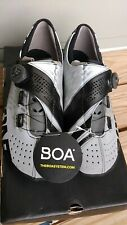 Bont Helix Ghost Reflective Road Shoe - 46 US 11 Standard Fit