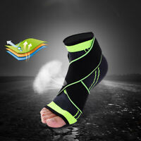 Ankle Support Compression Plantar Fasciitis Sleeve Sport Foot Wrap Strap Brace