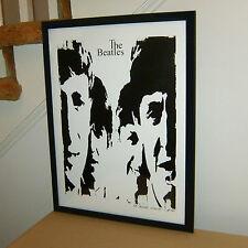 The Beatles John Lennon Paul McCartney George Harrison Ringo Starr POSTER w/COA7