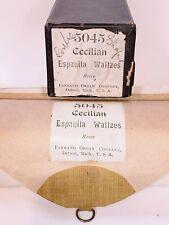 5045 Cecilian Espanita Waltzes Rosey 1900 Farrand Organ Co. Piano Roll