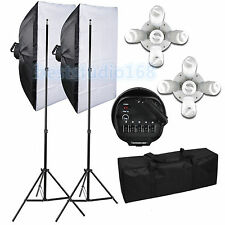 Photography Five Socket Softbox Compact Fluorescent Photo Video Studio Lighting