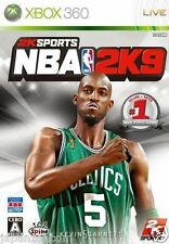 Used Xbox 360 NBA 2K9 MICROSOFT JAPAN JP JAPANESE JAPONAIS IMPORT