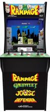 Arcade1Up Rampage Joust Gauntlet Defender 3 in 1 Arcade Game 4ft tall