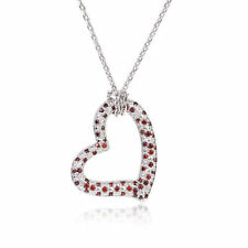 Handmade Ruby Mixed Themes Fashion Necklaces & Pendants