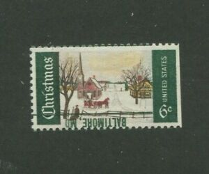 United States Postage Stamps #1384m MNH VF Inverted Baltimore Precancel