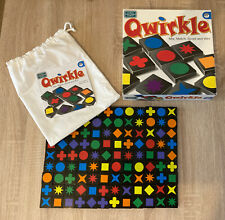 QWIRKLE - FAMILY TILE BOARD GAME - THE GREEN BOARD GAME CO - COMPLETE - 2006