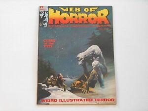 Web of Horror #3, (Major Magazines), 7.0 FN/VF
