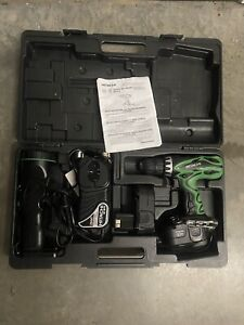 HITACHI DS 18DVF3 18V Drill With UB 180 18V Flashlight With Battery And Charger