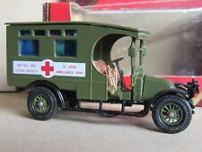 868M Matchbox Y25 Renault Ambulance 1910 WWI Edition Limited 1:47 +Box