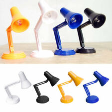 Mini Led Reading Lamp Toy for 1/12 Dollhouse Toy Accessories Desk Lamp light