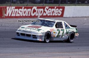 RUSTY WALLACE - NASCAR- NORTH WILKESBORO- 1989  - Original 35mm Color Slide