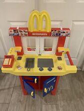 Mcdonalds Drive-Thru Playset Vintage Pretend Play Set with Sounds RARE