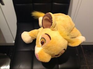 "DISNEY Lion King Simba  Soft Toy Plush 14""  Disney Store"