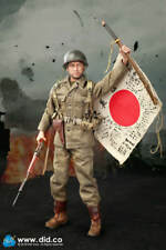 did action figure 77th us american sam 1/6 12'' boxed hot toy ww11 dragon