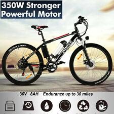 WINICE Electric Bikes Electric Mountain Bike 26 Inch E-bike City Bicycle Cycling