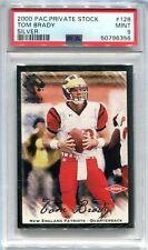 2000 Private Stock Silver 128 Tom Brady Rookie 305/330 PSA 9 MINT POP 7 NO 10s
