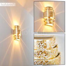 Applique Lampe murale dorée Lampe de couloir Lampe de séjour Spot Up/Down 185425
