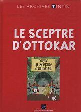 LES ARCHIVES TINTIN - Le Sceptre d'Ottokar Editions Moulinsart. état neuf non lu