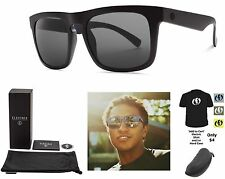 NEW Electric Mainstay Matte Black Ohm Grey Square Mens Sunglasses Msrp$100