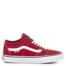 Vans TNT SG SCARLET WHITE Trujillo Men's Classic Skate Shoes Size sz 7