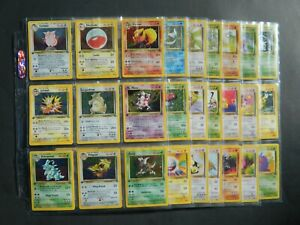 Complete your set! Jungle Set Pokemon card singles