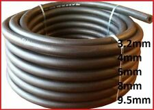 1 M Fuel Pipe Braided Hose Rubber Engine Diesel Petrol Oil Sizes 3.2 4 5 8 9.5mm 8mm X 14mm per 1 Metre 1000mm