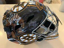 Tuukka Rask Boston Bruins Signed Autographed Franklin Full Size Goalie Mask