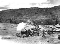 WWII photo German 105 mm recoilless guns LG 40 fire 24i