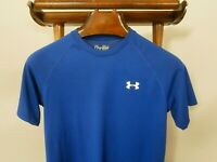 UNDER ARMOUR Small HeatGear Loose Performance Crew Neck Shirt  -FAST SHIP-
