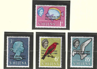 St. Helena Stamps Scott #176 To 179, Mint Never Hinged