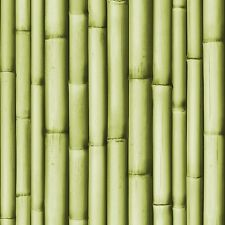Wallpaper Muriva - Bluff Bamboo Pattern - Mural Style Embossed - Green - J223-04