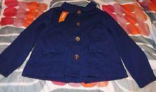 girls gymboree mod about orange jacket size 5-6 nwt