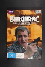 Bergerac : Series 4 (DVD, 2012, 3-Disc Set) VGC Region 4 (Box D58)