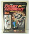 Transformers G2 Jazz, 1992, Factory Sealed MOC and Never Opened
