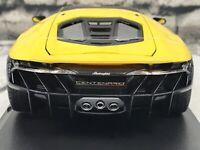 Maisto 1:18 Lamborghini Centenario, Yellow, Special Edition Die Cast New 2020