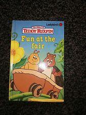 "the world of teddy ruxpin book "" fun at the fair"""
