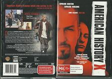 AMERICAN HISTORY X EDWARD NORTON EDWARD FURLONG BEVERLY D'ANGELO GREAT NEW DVD