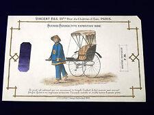 Catalogue AU CHATEAU D'EAU. Vincent Fils. Paris. +4 publicité suppl. Vers 1900