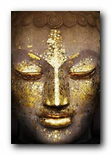 GOLD BUDDHA POSTER - 24x36 SHRINK WRAPPED - RELIGIOUS INSPIRATIONAL 33364