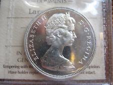1966 Q.E.II silver canadian dollar unc.