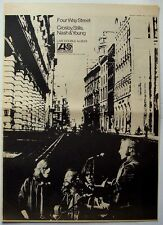 Crosby, Stills, Nash & Young 1971 Poster Ad 4 Way Street