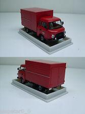 "Barkas b1000 valise ""pompiers de Berlin"", h0 rda voiture modèle 1:87, Brekina 30360"