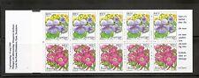 Sweden Sc # 2280a Flowers -. Complete Booklet