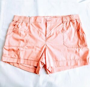 Women's Sonoma peach short Mid Rise Shorts - Size 24 W - NWT clothes free ship