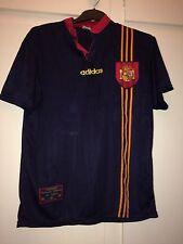 * L * España Lejos Camiseta De Fútbol Euro 1996 (K)