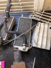 Aluminum Radiator complete set w/hoses/covers SUZUKI RMZ250 RMZ 250 2010-2012