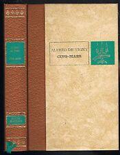 CINQ-MARS une CONJURATION sous LOUIS XIII par Alfred de VIGNY Ƀdit. de l'Érable