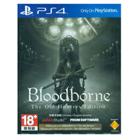 Bloodborne The Old Hunter Edition PS4 2015 Region Free Factory Sealed